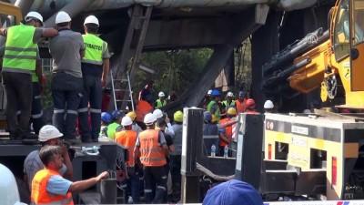Yatağan Termik Santrali'nin kömür bandının çökmesi - 2 işçinin cansız bedenine ulaşıldı - MUĞLA Video