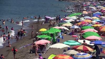 Akçakoca sahilleri güney sahillerini aratmadı - DÜZCE