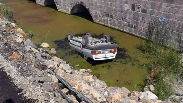 sulama kanali -  Beyşehir'de iki ayrı trafik kazası: 4 yaralı