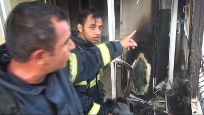 trol -  Buzdolabı kablosu yangına neden oldu... 2 kişi dumandan etkilendi