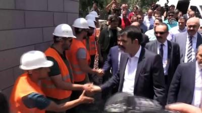 Çevre ve Şehircilik Bakanı Kurum, ziyaretlerde bulundu - DİYARBAKIR