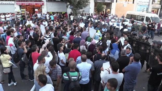 isgal - Filistinliler Gazze'ye uygulanan yaptırımları protesto etti - RAMALLAH