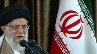 """hukumet -  - İran Dini Lideri Ayetullah Hamaney: """"Ülkemizde dini bir hükümet hakim olduğu sürece ABD ile sorunlar halledilmeyecek''"""