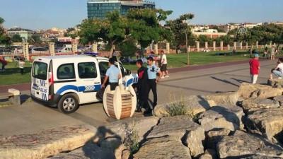 cenaze - Kadıköy'de denize giren kişi boğuldu - İSTANBUL