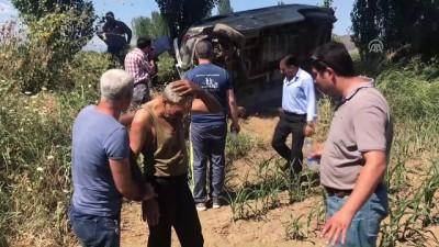 Kaza yapan sürücüyü vatandaşlar kurtardı - AYDIN