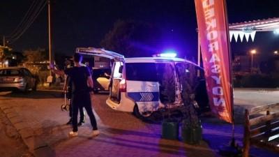 Motosikletle göreve gitmekte olan askeri personele cip çarptı: 2 yaralı