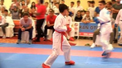 uluslararasi - Uluslararası Dekai-do Karate Turnuvası Denizli'de başladı - Turnuvaya 9 ülke ve 20 kentten 844 sporcu katıldı - Turnuva yarın gerçekleştirilecek final karşılaşmaları ile sona erecek