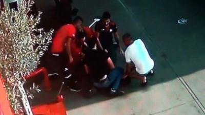 5 ayrı suçtan hükümlü cezaevi firarisini akaryakıt istasyonu pompacıları yakaladı... O anlar kamerada