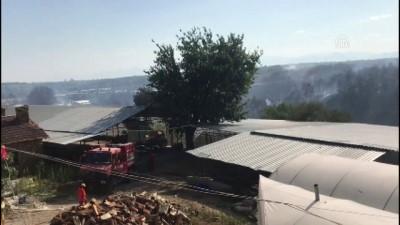 yangina mudahale - Antalya'da orman yangını (3)