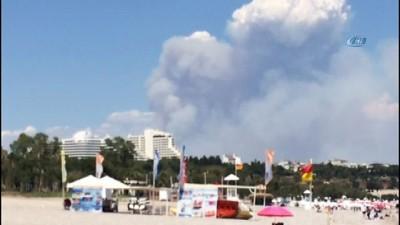 trol -  Antalya'da orman yangını