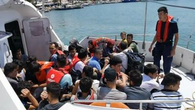 nani -  Çanakkale'de 42 kaçak göçmen yakalandı