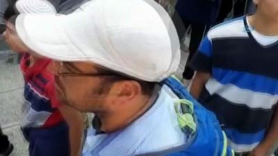 asiri sagci -  - Filistin Bayrağı Açan Çocuk Gözaltına Alındı - Öğle Saatlerine Kadar Bin Yahudi Mescidi Aksa'ya Girdi