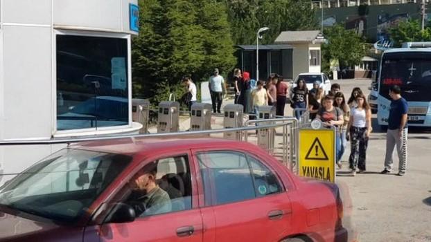 trafik yogunlugu -  Karabük'te KPSS heyecanı
