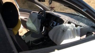 cenaze -  Otomobil ile motosiklet çarpıştı: 1 ölü, 8 yaralı