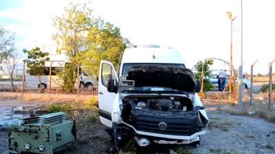 trafik kazasi - Trafik kazası: 16 yaralı - AKSARAY