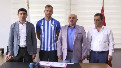 Büyükşehir Belediye Erzurumspor'a Alman golcü - ERZURUM