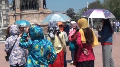 İstanbul sıcaktan kavruldu Haberi