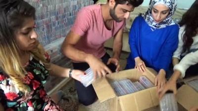 grup genc -  Sosyal medyada tanıştılar, çocuklar için kalem topladılar
