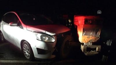 trafik kazasi - Trafik kazası: 5 yaralı - BİLECİK