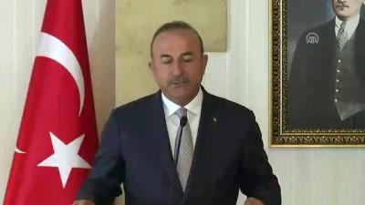Bakan Çavuşoğlu: 'Yangın söndürme uçakları ihtiyaç halinde Yunanistan'a hareket için hazır'- LEFKOŞA