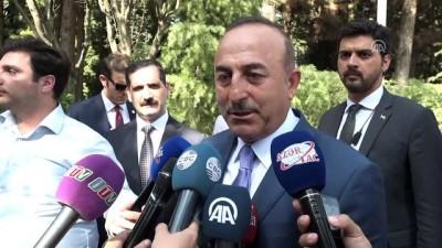 cumhurbaskanligi - Dışişleri Bakanı Çavuşoğlu Azerbaycan'da - BAKÜ
