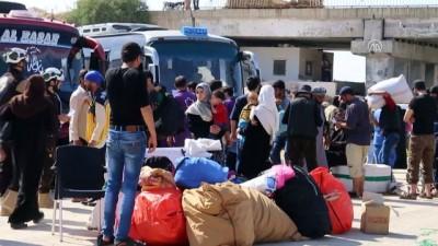 muhalifler - Suriye'nin güneyinden zorunlu tahliyeler - İDLİB