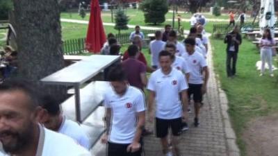 Ampute Futbol Milli Takımı Gölcük'te ağırlandı