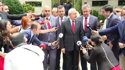 Kılıçdaroğlu: 'CHP Milletvekili Enis Berberoğlu ve eski CHP Milletvekili Eren Erdem ile ilgili düşüncelerimizi ilettik' - TBMM