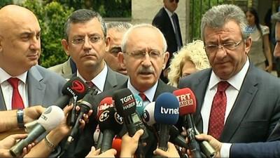 TBMM Başkanı Yıldırım, Kılıçdaroğlu'nu kabul etti