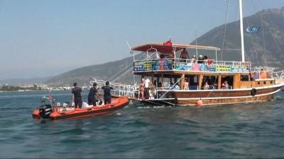 Tur teknelerine Sahil Güvenlik denetimi