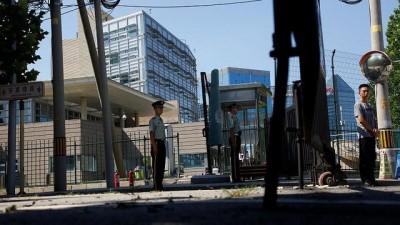 ABD'nin Pekin Büyükelçiliği yakınlarında şiddetli patlama