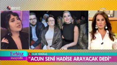Nur Yerlitaş: Hadise'nin annesi intihar girişiminde bulunmuş
