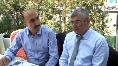 ÖZ TAŞIMA İŞ Sendikası Genel Başkanı Toruntay basın mensuplarıyla bir araya geldi