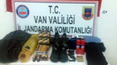 Van'da terör eylemlerinde kullanılacak malzemeler ele geçirildi