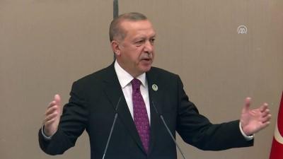 Cumhurbaşkanı Erdoğan: 'Türkiye olarak Afrika'nın hakiki dostu kader ortağı olmak istiyoruz'- JOHANNESBURG