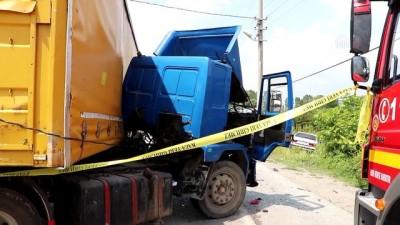 Trafik kazası: 1 ölü, 17 yaralı (2) - SAKARYA