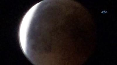 Ardahan'da kanlı Ay tutulması