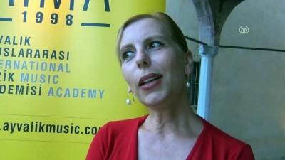 Ayvalık Uluslararası Müzik Akademisi müzik festivali başladı - BALIKESİR