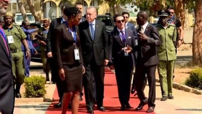 cumhurbaskanligi - Erdoğan, cumhurbaşkanlığı kabristanını ziyaret etti - ZAMBİYA