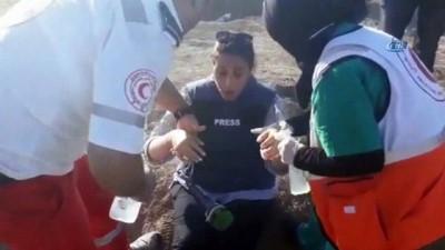 - İsrail Askerleri Gazze'de Gazetecileri Hedef Aldı