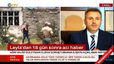 Ağrı Valisi Elban: Tecavüz emaresi yok