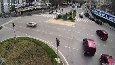 Aşırı hız ve yola kontrolsüz çıkış kazayı böyle getirdi