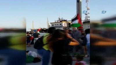 - Gazze için yola çıkan 5'inci Özgürlük Filosu İtalya'ya ulaştı