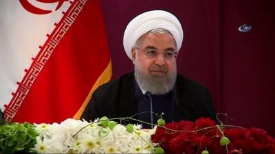 """İran'dan Abd'ye Petrol Tehdidi - Ruhani: """"eğer Yapabiliyorsanız İran Petrol İhracatını Engelleyin, Böylece Sonuçlarını Da Göreceksiniz'"""