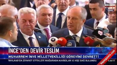 Muharrem İnce: Kılıçdaroğlu'na kurultaya gitmesini teklif ettim