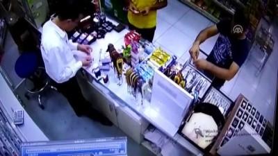 akaryakit istasyonu - İş yerinden hırsızlık güvenlik kamerasında - BURSA