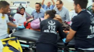 Konya'da kum fırtınasında 19 araç birbirine girdi: 2'si ağır 17 yaralı