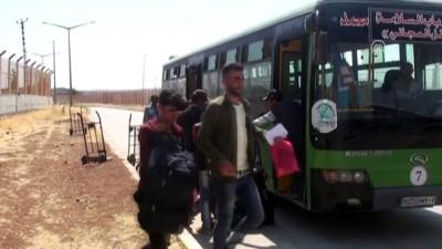 Suriyelilerin Türkiye'ye dönüşü sona erdi - KİLİS