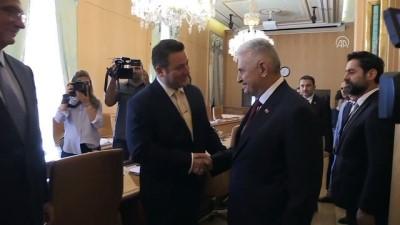 TBMM Başkanı Yıldırım, TÜSİAD heyetini kabul etti