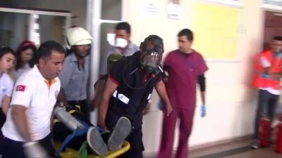 Yüksekova Devlet Hastanesinde yangın tatbikatı - HAKKARİ